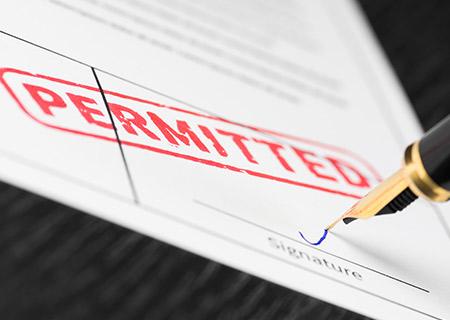 Sign Applications Permits