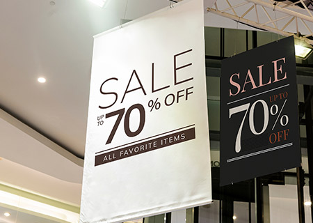Retail / Promotional Signs