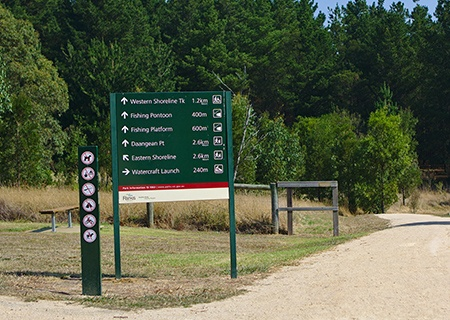 Post Panel Signs
