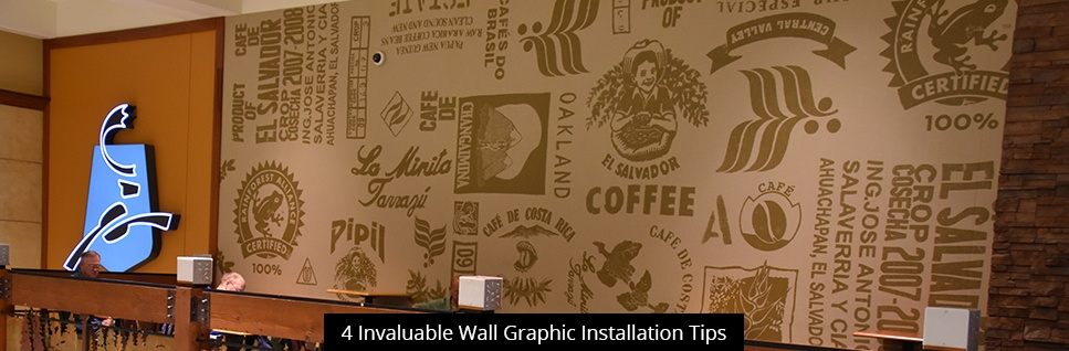 4 Invaluable Wall Graphic Installation Tips