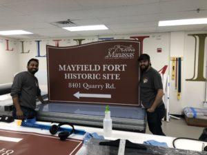 Business Custom Signs in Manassas VA