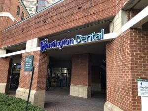 Huntington dental exterior sign